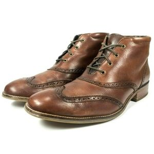 Cole Haan Liam Wingtip Chukka Ankle Boots